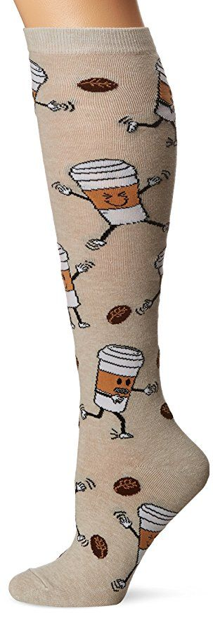 K. Bell Women's Single Pack Fun Novelty Knee High Socks