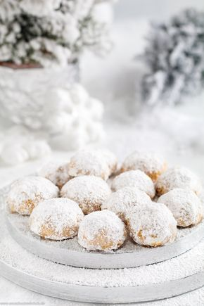 Walnuss Schneebälle #essenundtrinken