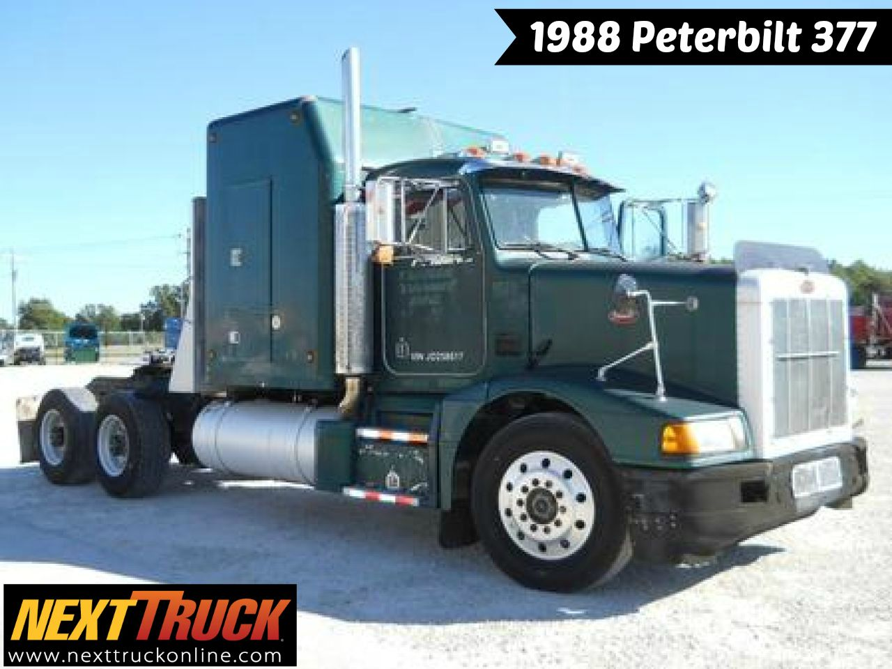 throwbackthursday check out this 1988 peterbilt 377 view more peterbilt trucks at