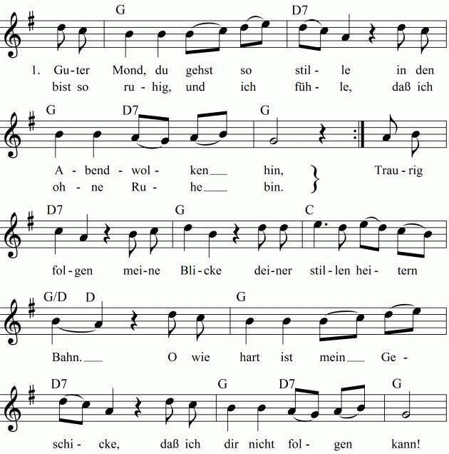 Mondbär Lied
