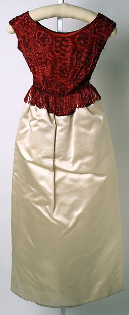 House of Lanvin | Evening dress | French | The Metropolitan Museum of Art 1961