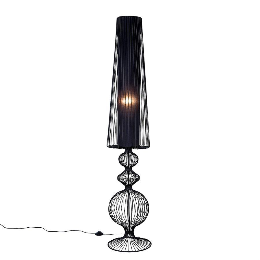 Stehlampe Swing Iron Uno Eisen Schwarz | Stehlampe, Lampe