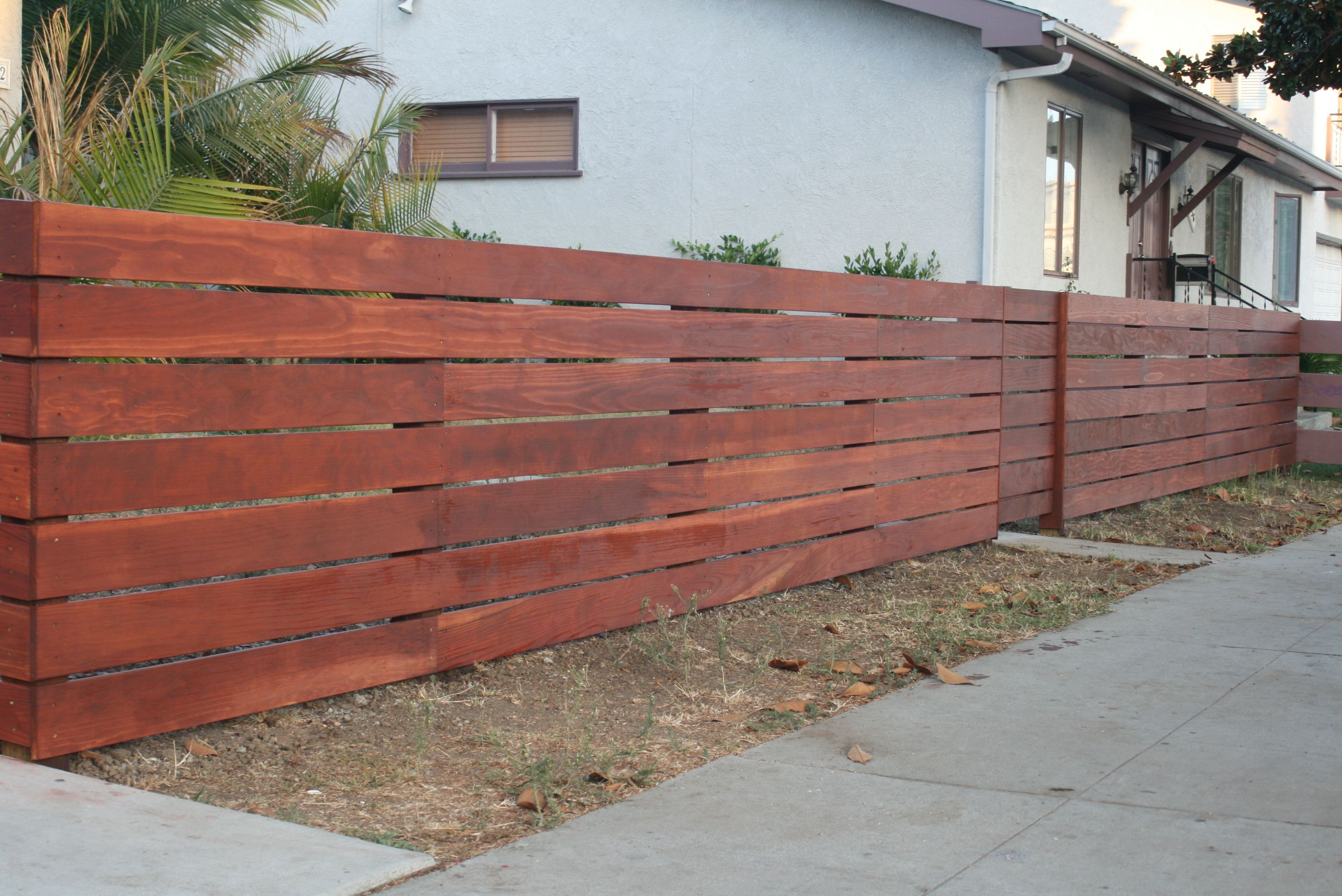 My New Fence Idea Going To Do This Fence Sharp Cloture Palette Cloture Horizontale Et Claustra Bois