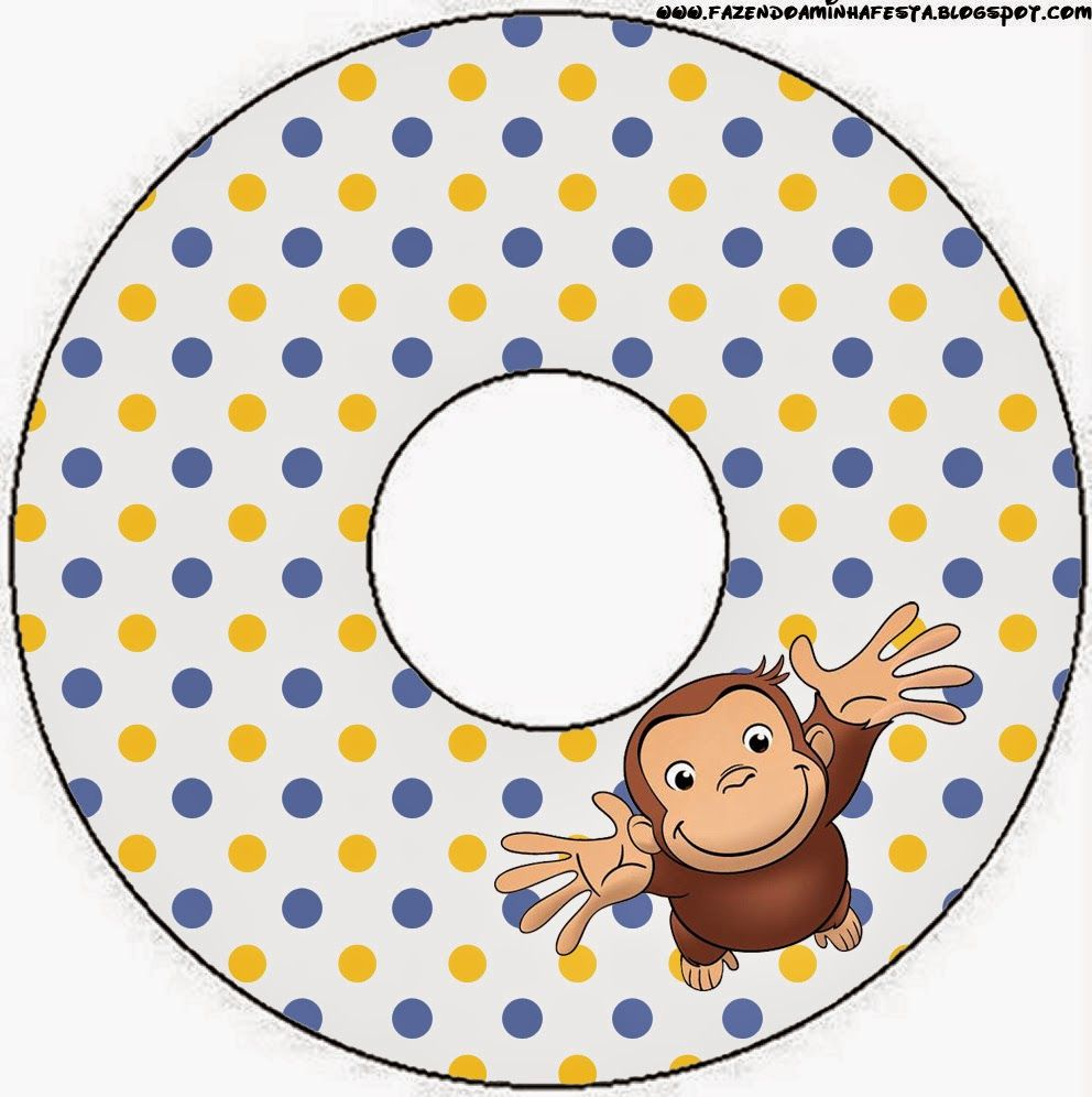 Curious George Free Party Printables. | Fallon\'s Birthdays ...