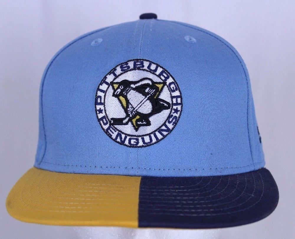 new concept 5af00 a3038 Pittsburgh Penguins Hockey Ball Cap New Era 59FIFTY Adjustable Snapback Hat   NewEra  BaseballCap  Penguins