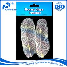 Printed Feather, Printed Feather direct from Cixi Hong Yuan Feather Products Co., Ltd. in China (Mainland)