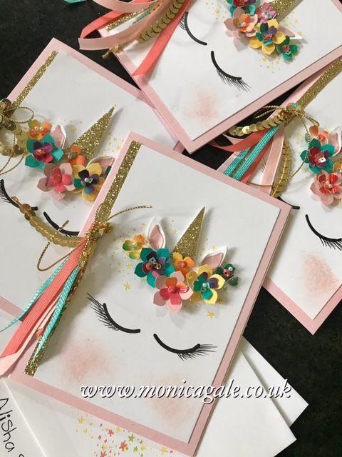 Image Result For Unicorn Handmade Invitation Card Ideas