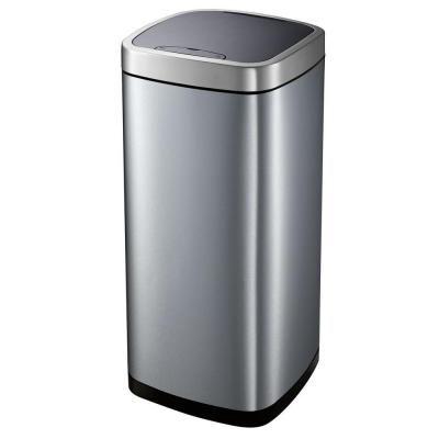 HDX L Motion Sensor Trash CanEKTHDL The Home Depot - Home depot kitchen garbage cans