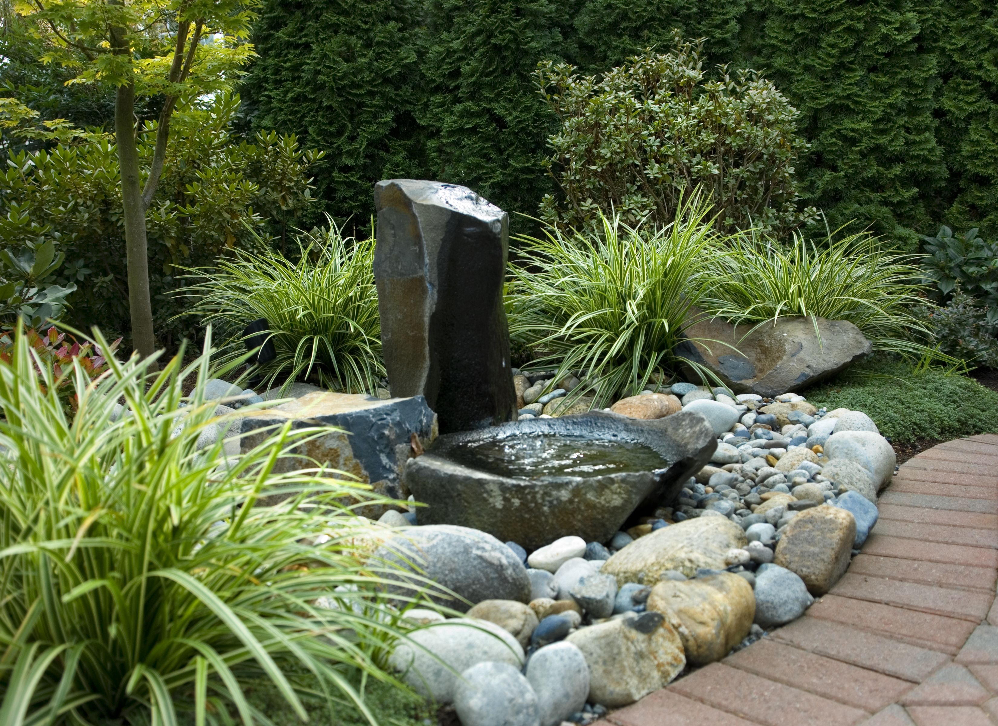 Simple Basalt Column Fountainfrom Classicnurserycom Portfolio