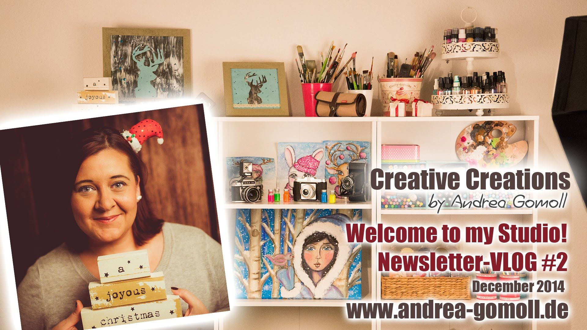 【Cre8tiveCre8tions】 Studio Newsletter-vlog ... #2