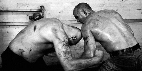 bare knuckle fist fight