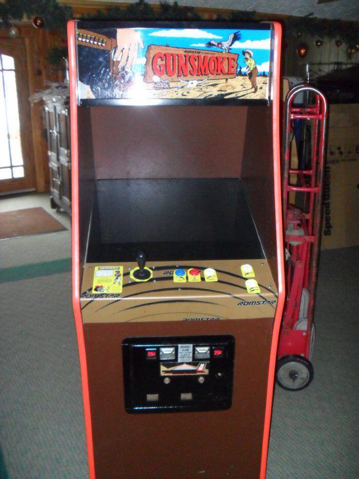 Gunsmoke Arcade Game Room Arcade Games Arcade