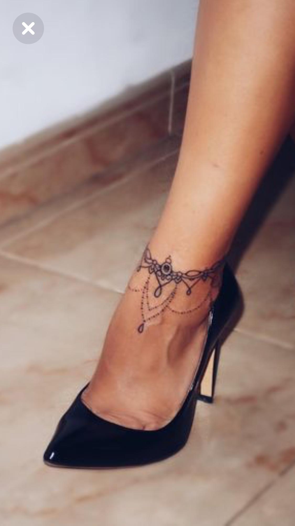 Pin De Marie01 En Tatouages Tatuajes Tobillo Tatuaje Tobillera Y