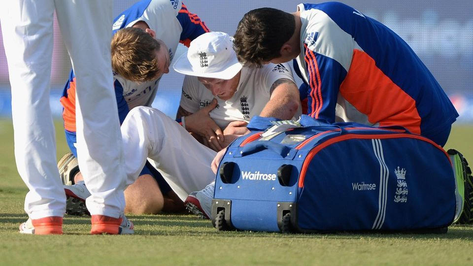 England brace for bad news after Stokes injury Injury