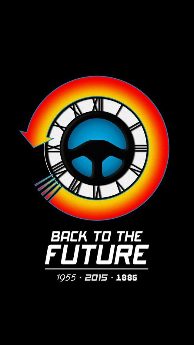 back to the future ios wallpaper impremedianet