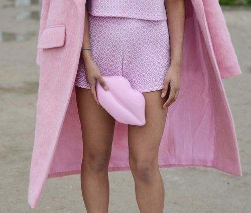 Imagem de fashion, girl, and pink