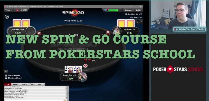 PokerStars School and OP Poker team up for new Spin & Go