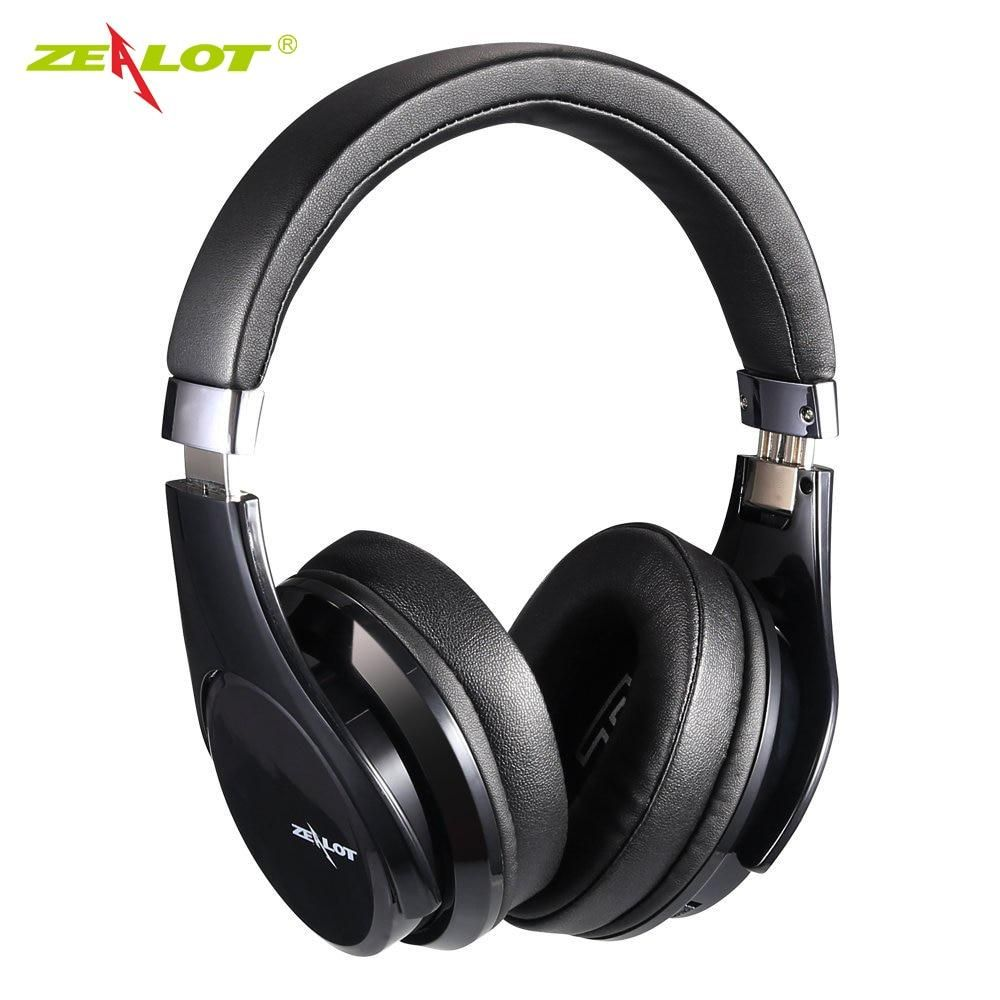 By Zealot B21 Deep Bass Portable Touch Control Wireless Bluetooth Over Ear Headphones With Built In Mic Headphones In Ear Headphones Noise Cancelling Headset