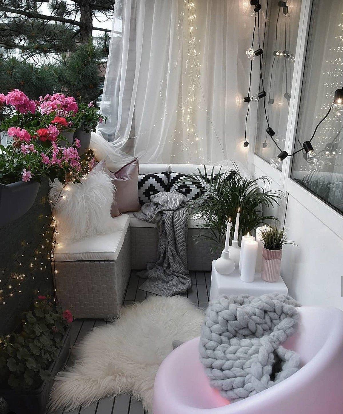 Follow beepaola to pinterest  Small balcony design, Balcony decor