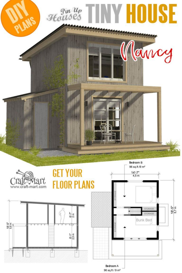 16 Cutest Small And Tiny Home Plans With Cost To Build Craft Mart Tiny House Plans Small Cottages Mini House Plans Tiny House Plans
