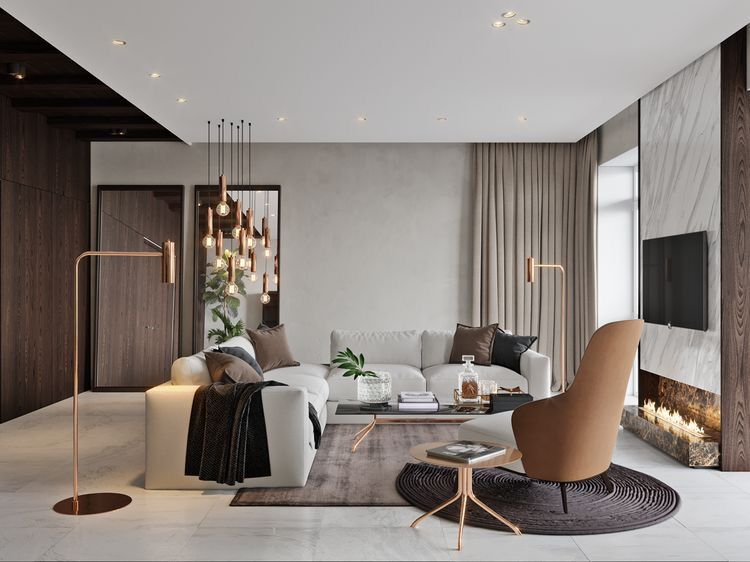 Making Your Living Room Look And Feel More Luxurious Elegant