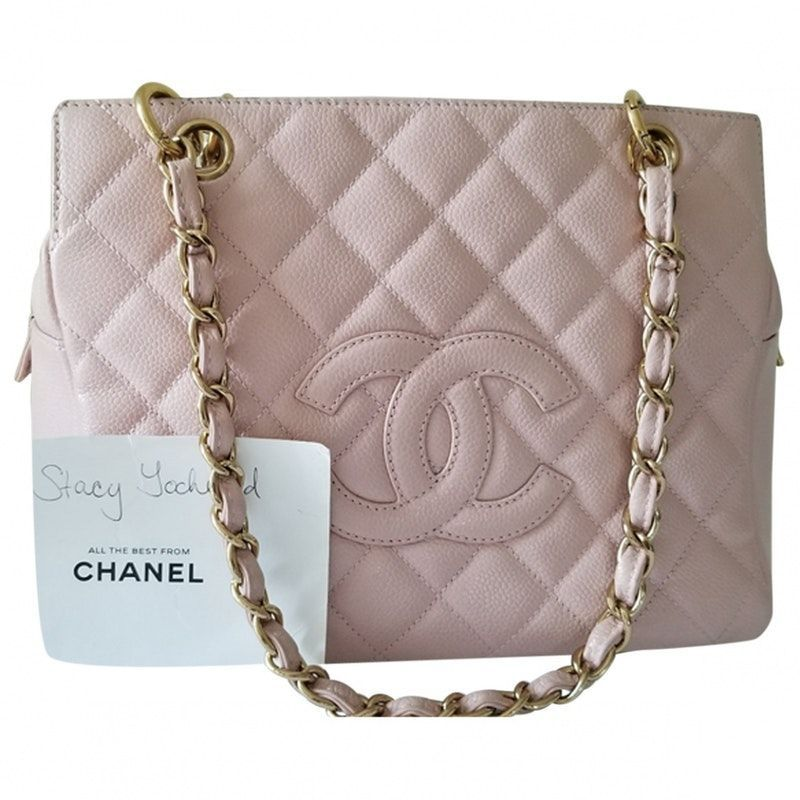 8d70ceee76c3 pink Plain Leather CHANEL Handbag - Vestiaire Collective | Bags ...