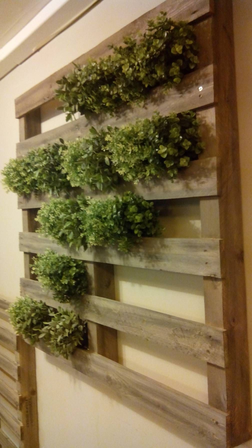 Innovative DIY Pallet Vertical Garden Ideas | Pinterest | Pallets ...