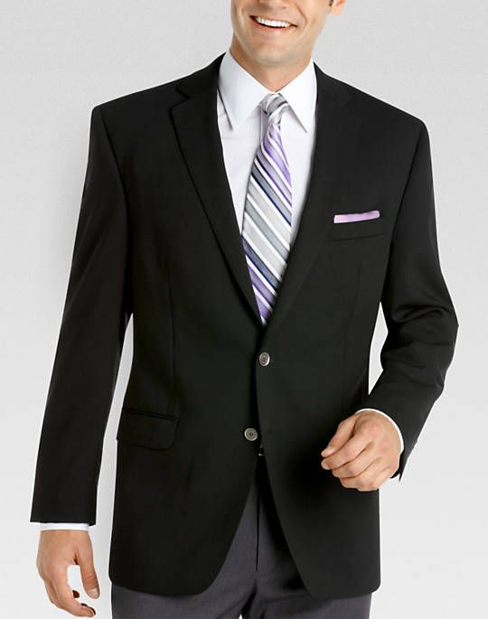 05f279e4f640 Calvin Klein Slim Fit Black Blazer | Business Casual | Blazer ...