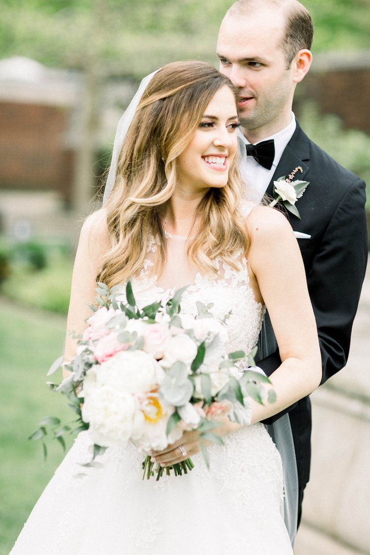 Bride and groom outdoor wedding photos Romantic Fairytale