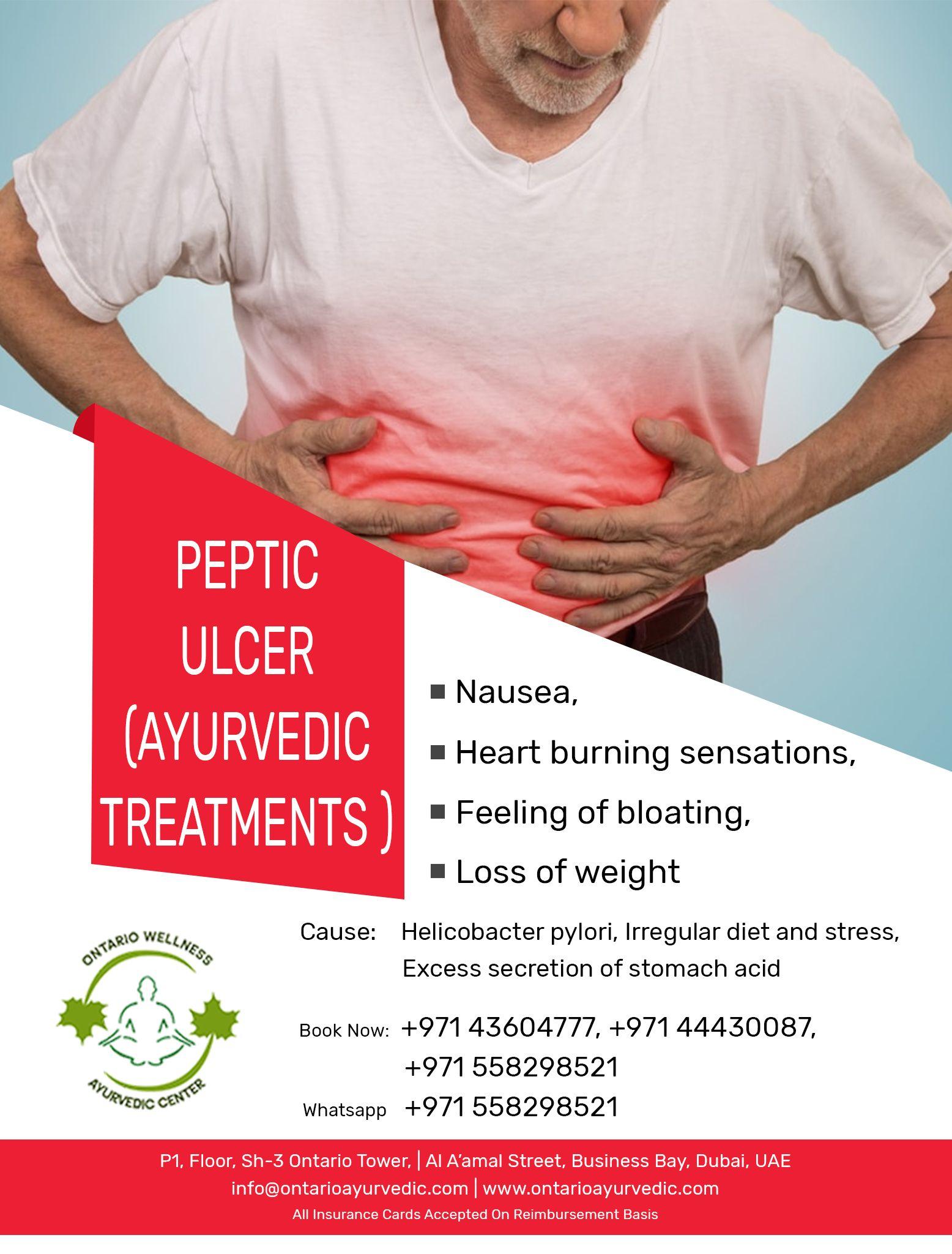 Ontario Ayurvedic Wellness Center LLC Peptic Ulcer (Ayurvedic