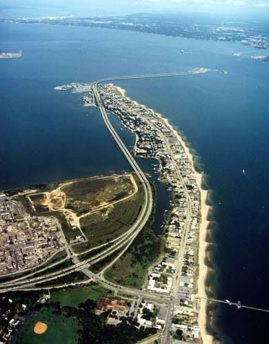 Willoughby Spit And Hampton Roads