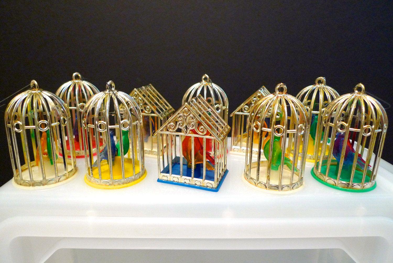 Bird Cage Silvestri Christmas Lights Ornament BIrd House Christmas ...