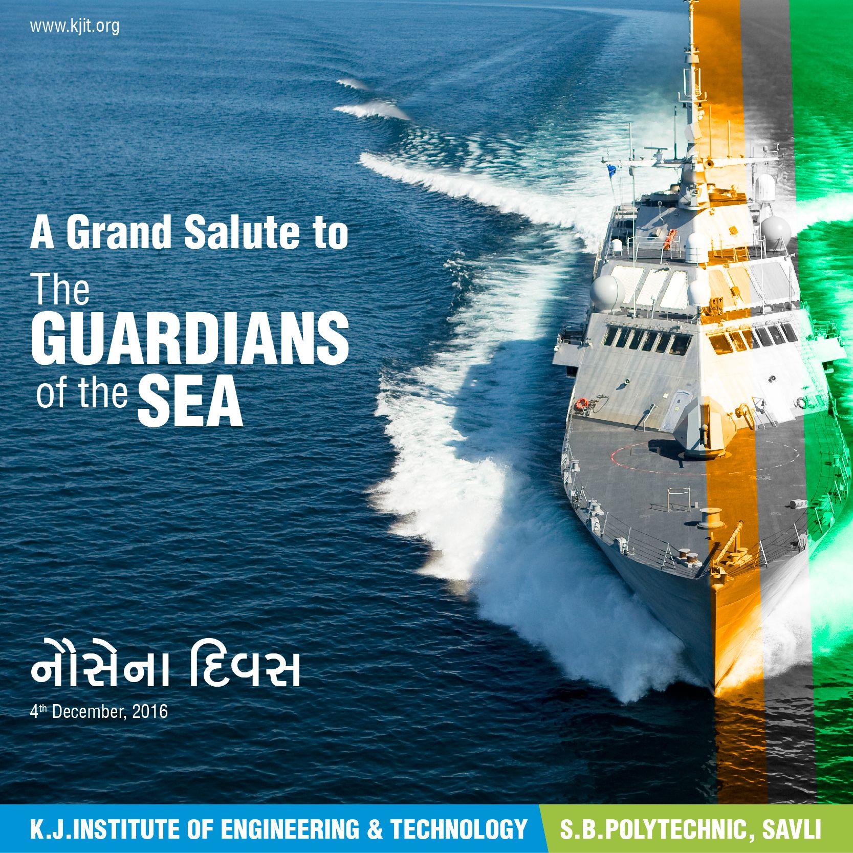 Guarding the coastal areas of India are the brave sea