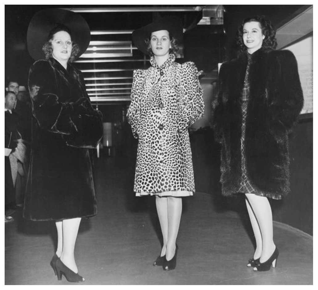 1940s Fashion Forecast - Coat Styles   40s   Fashion ...