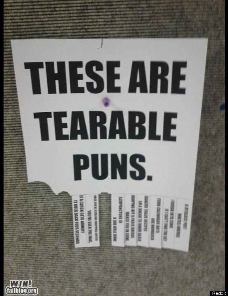 TAKE ONE 30 Hilarious TearOff Tab Flyers Laughter and Funny signs