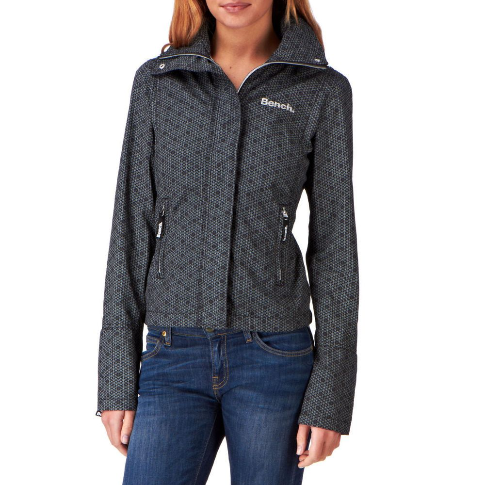Bench Bbq Womens Jacket Jet Black Jackets For Women Jackets Plus Size Coats