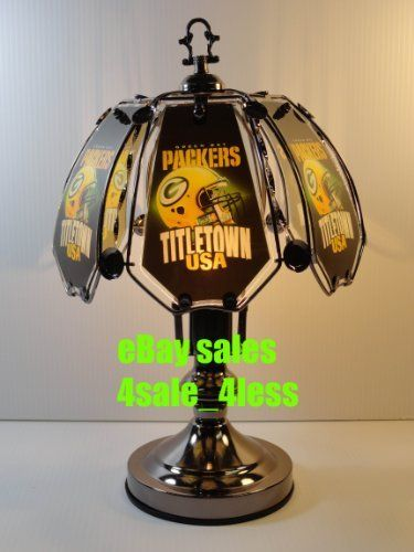 New Nfl Green Bay Packers 17 6 Panel Touch Lamp Touch Lamp