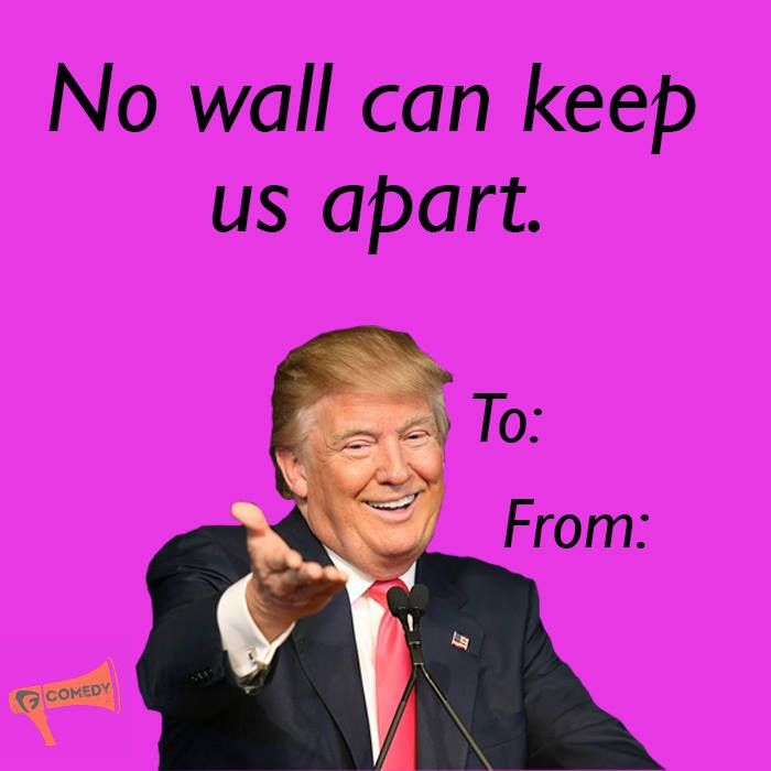 Pin By Shanixes On Bad Vday Valentines Day Memes Trump Valentines Funny Valentine