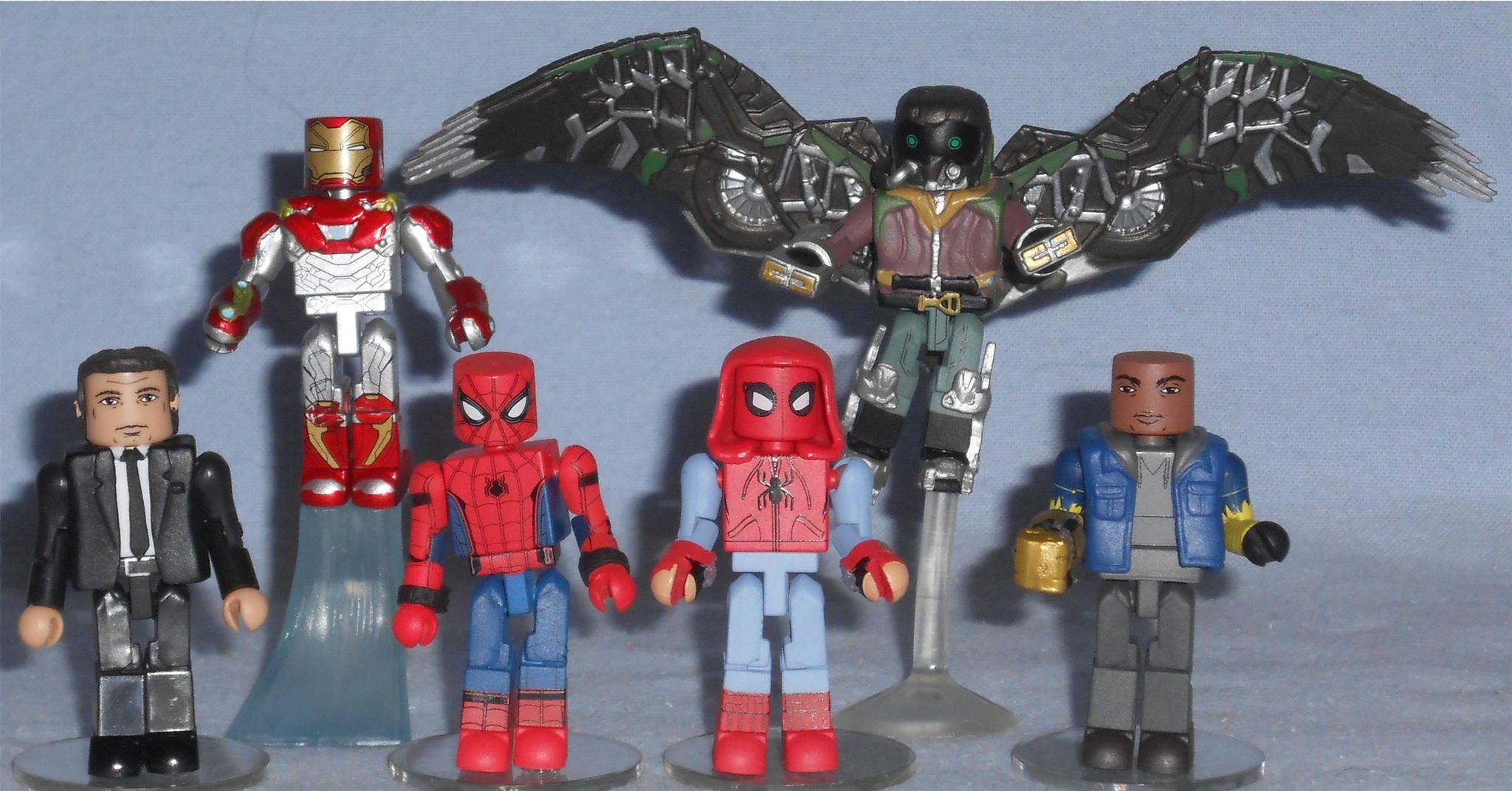 Minimates Spider Man Homecoming Minimates Spiderman Lego Spider