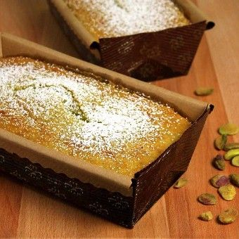 Easy Pistachio Loaf Cake