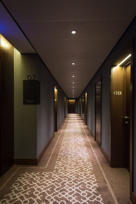 Corridor Design: NULTY+ ILLUMINATES LUXURY RESIDENTIAL APARTMENTS IN