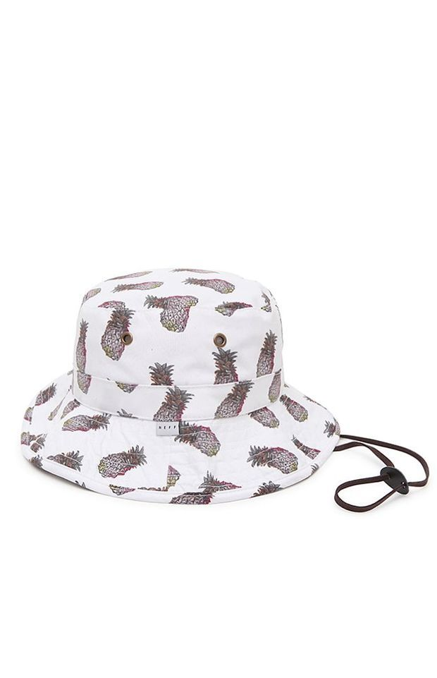 Neff Pineapple Bucket Hat - Womens Hat - Multi - One  efd92bdf17f
