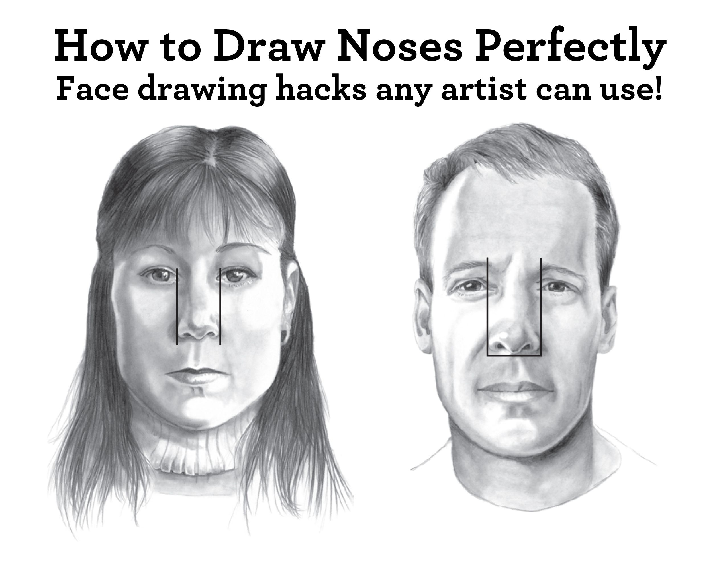 The ultimate guide to drawing faces free sketching tutorial the ultimate guide to drawing faces free sketching tutorial ccuart Choice Image
