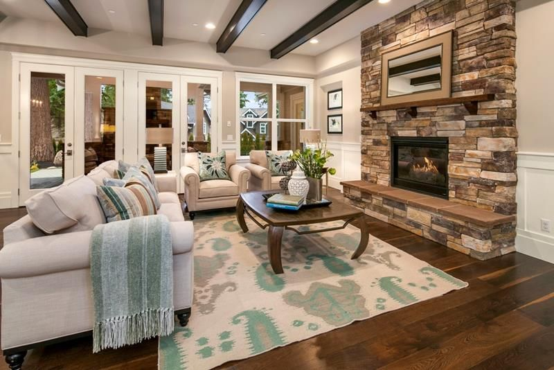 25 Professionally Designed Living Rooms   COLORS: Blue   Pinterest ...