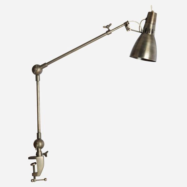 Tischlampe Gustav von house doctor - 2armig eisenfarben