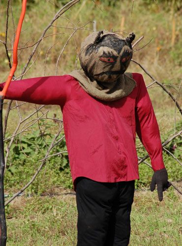 Need Inspiration For New Fall Decorations? Donu0027t Limit Yourself To  Traditional Garden Scarecrow