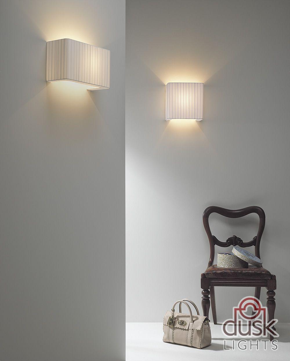 Astro Lighting Peruga 190 White Shade Wall Light - 4121