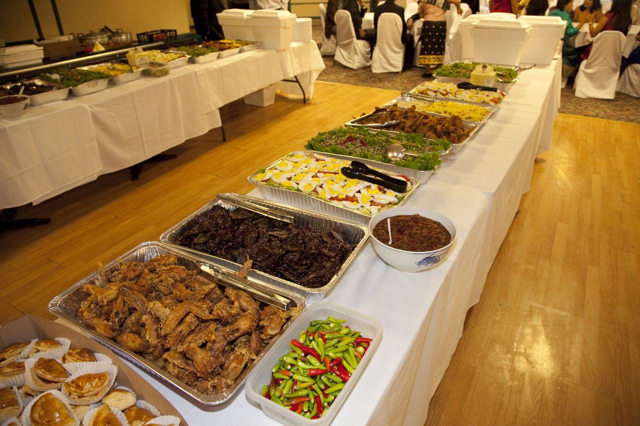Lao Wedding Lunch Buffet