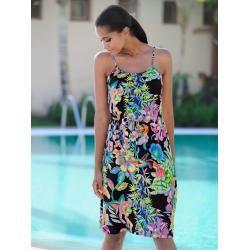 Photo of Alba Moda, beach dress with drawstring, black Alba Moda