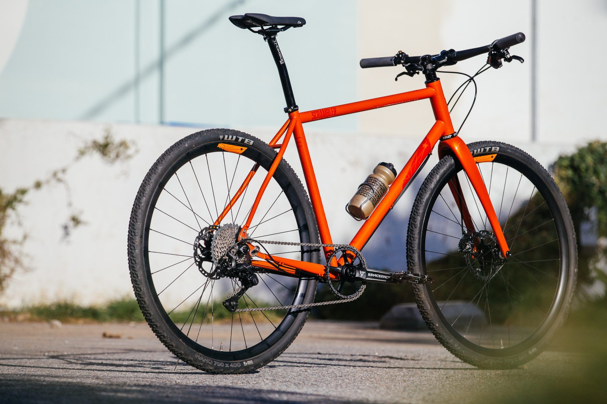 Don T Call It A Cross Bike The Caletti Scrambler Flat Bar City